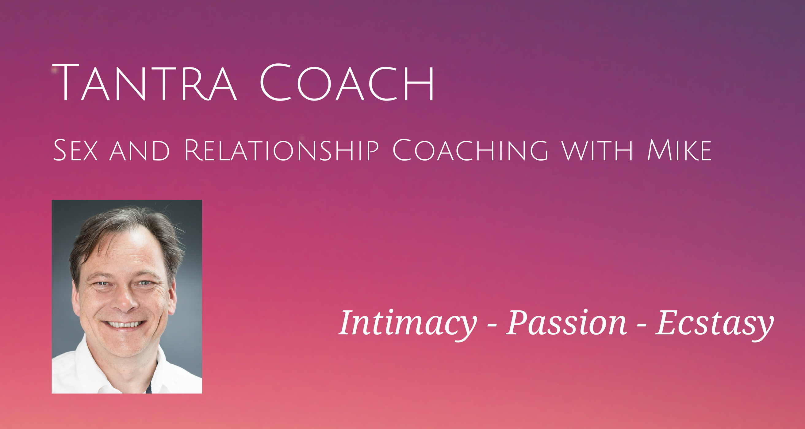 Sex and Relationship Coaching
